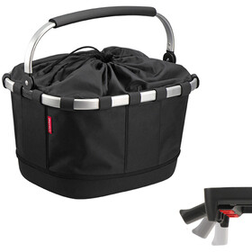 KlickFix Reisenthel Carrybag GT Bike Basket with UniKlip, black